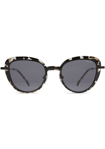 KOMONO CRAFTED London Sunglasses in Clear/Demi