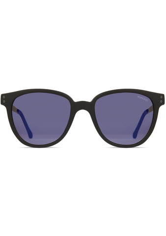 KOMONO Renee Sunglasses in Black/Silver