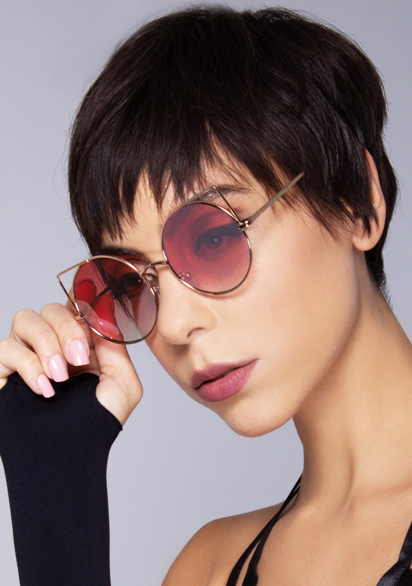 Bite Me Fade Cat Eye Sunglasses
