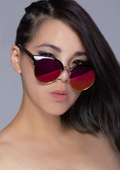 Deep Shade Mirrored Sunglasses