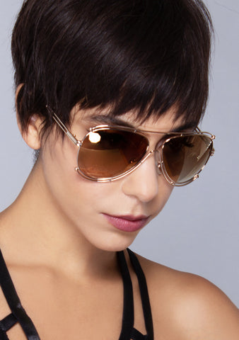 Fly High Aviator Sunglasses