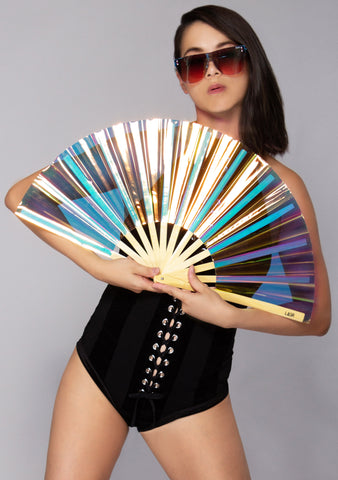 LASR Exclusive Liquid Shockwave Iridescent Fan