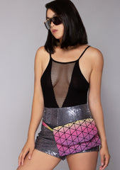 Pixel Perfect 3M Reflective Crossbody Bag
