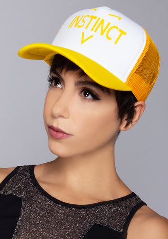Pokemon Go Team Instinct Trucker Hat