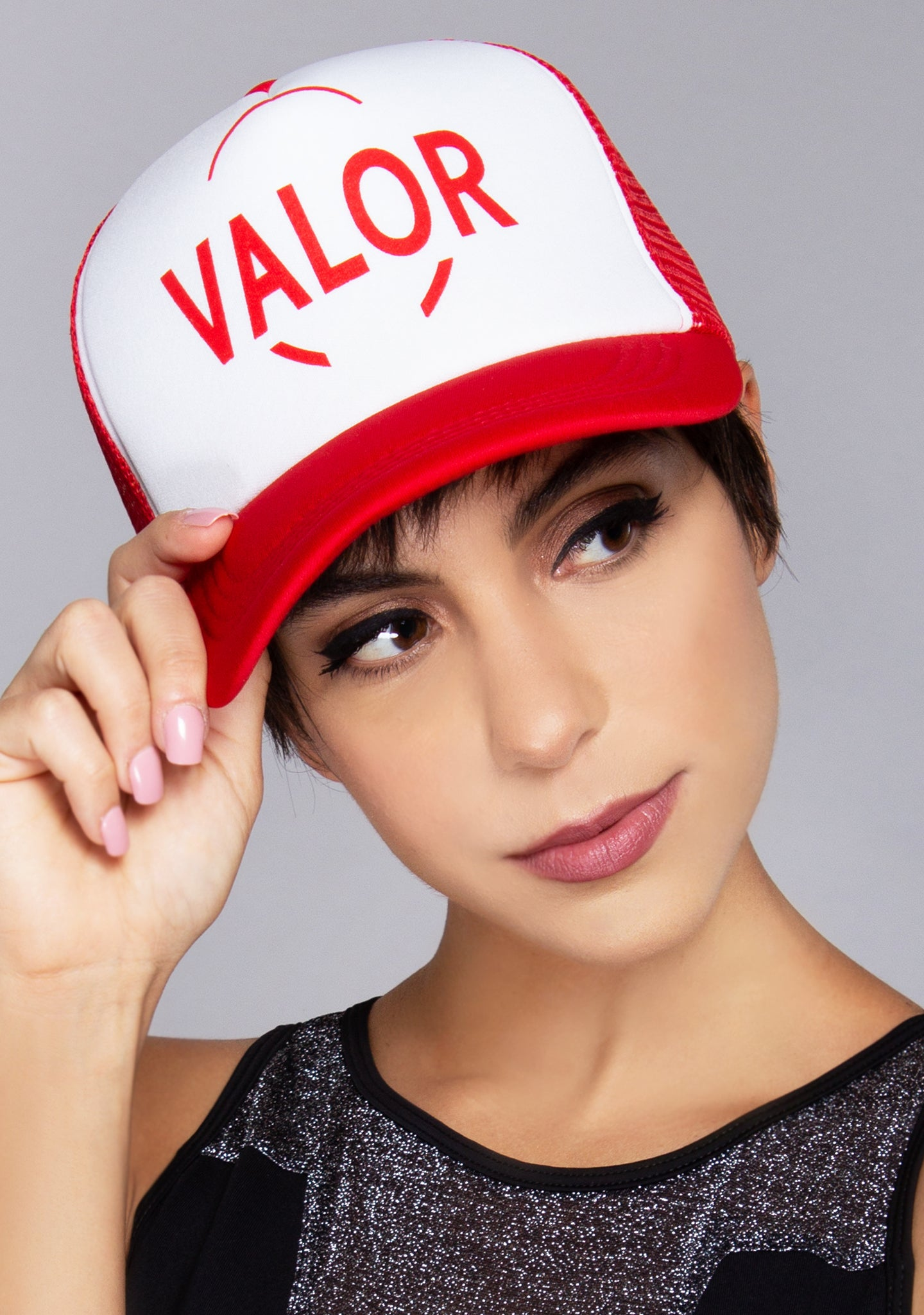 Pokemon Go Team Valor Trucker Hat