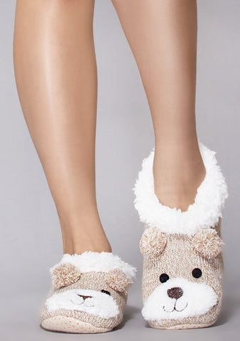 Teddy Bae Slippers