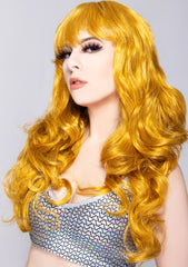 Girl Next Door Long Wavy Bang Wig