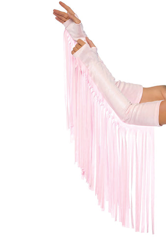 Pink Fringe Arm Wrap