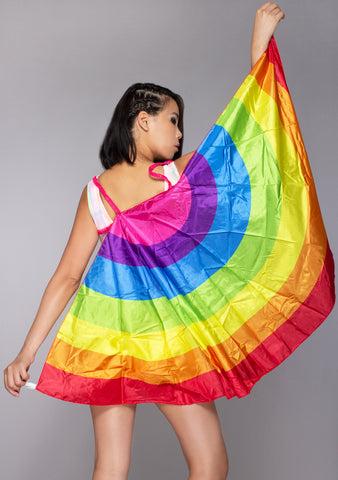 Rainbow Pride Wings