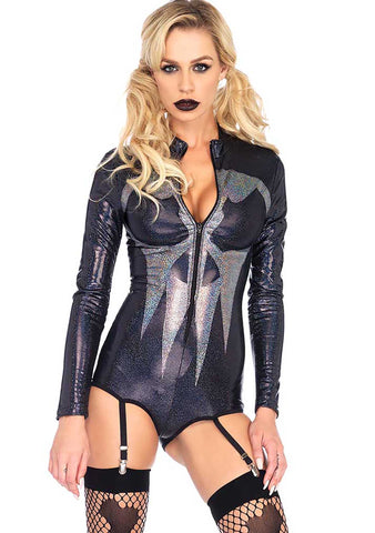 Shimmer Iridescent Skull Garte 2PC set