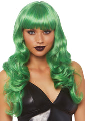 Toxic Love Long Wavy Bang Wig