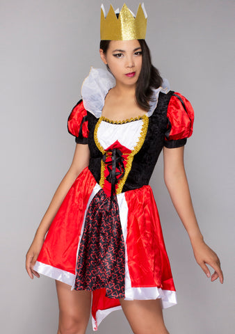 Wonderland Red Queen Set