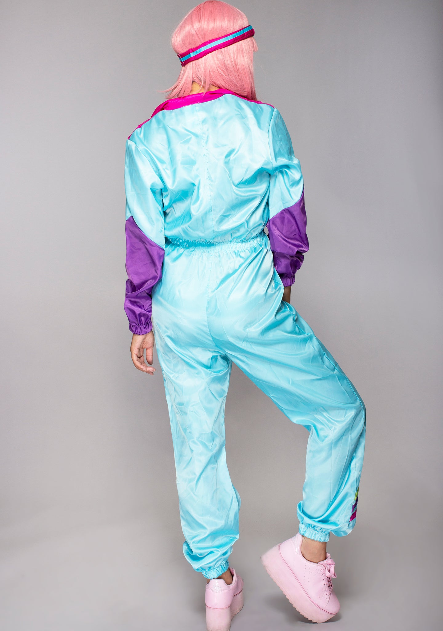 Work It Out 80's Tracksuit Set