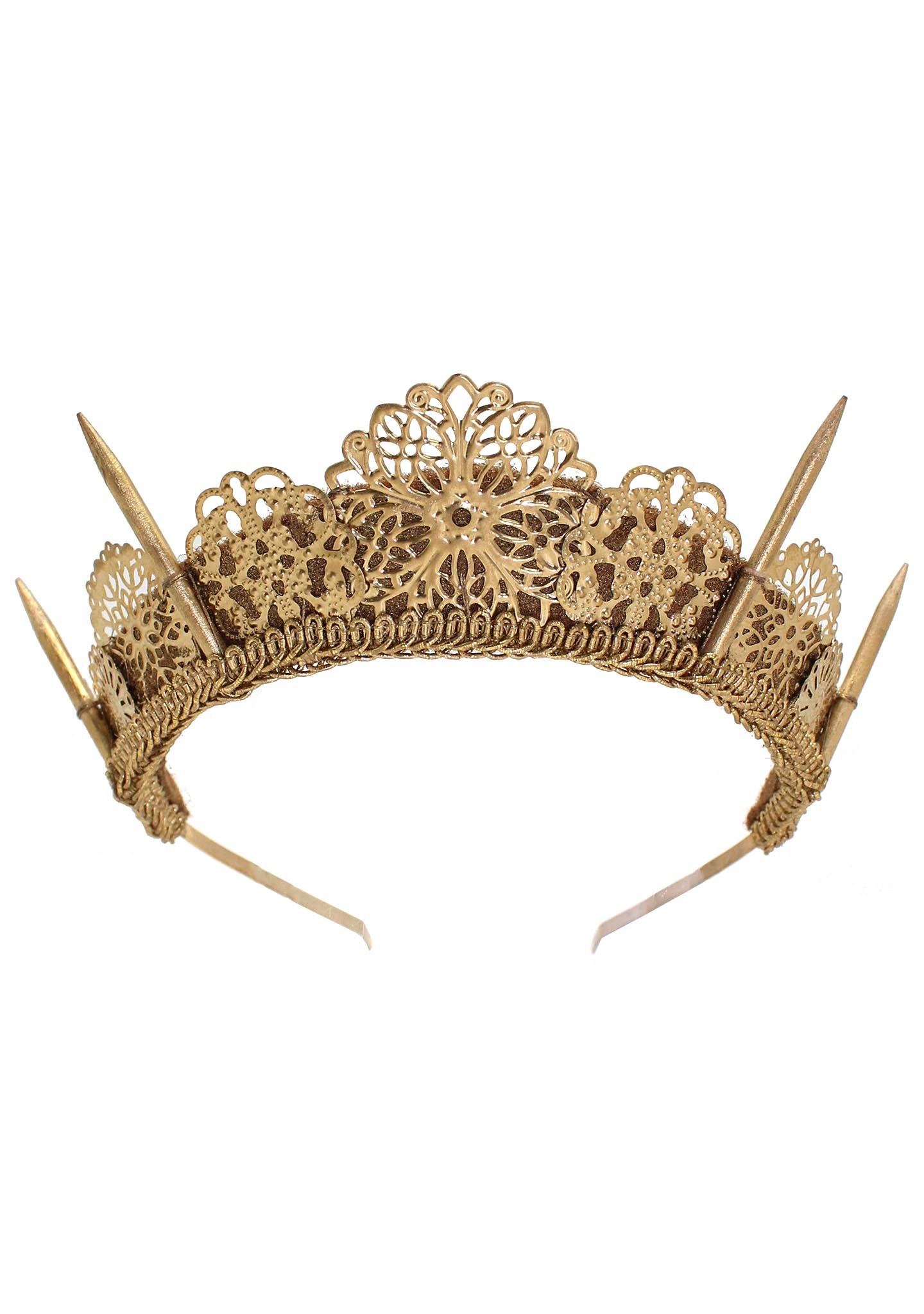 Gold Templis Crown