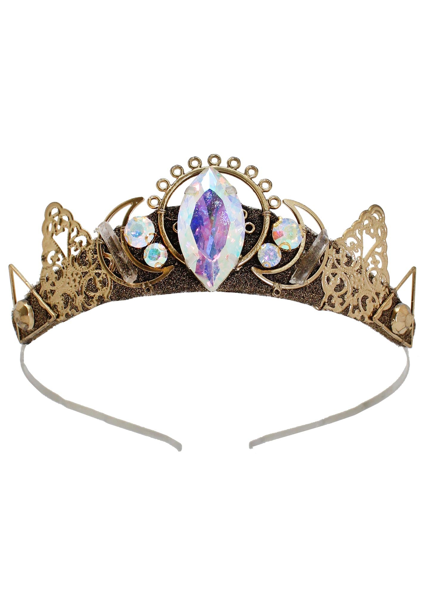 Loschy Mars Tiara in Gold