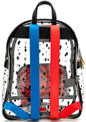 X DC Comics Birds of Prey Harley Quinn Clear Mini Backpack