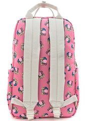 X DC Comics Harley Quinn Bubble Gum AOP Nylon Square Backpack