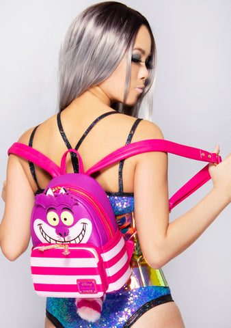 X Disney Alice in Wonderland Cheshire Cat Mini Backpack