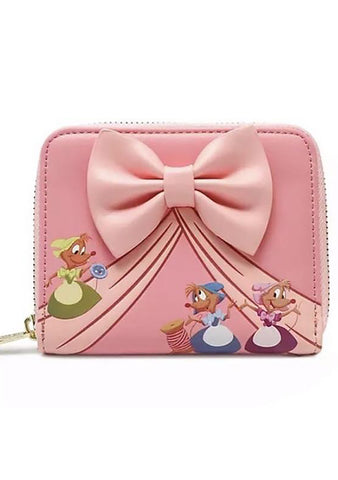 X Disney Cinderella Dress Making Bow Wallet