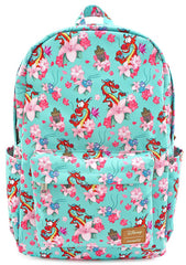 X Disney Mulan Mushu And Crikee Flower AOP Backpack