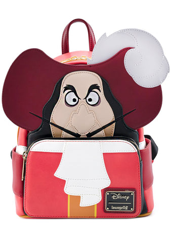 X Disney Captain Hook Cosplay Mini Backpack