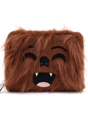 X Star Wars Chewbacca Cosplay Zip Around Wallet