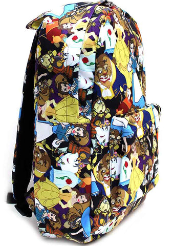 Loungefly X Disney Beauty And The Beast AOP Backpack