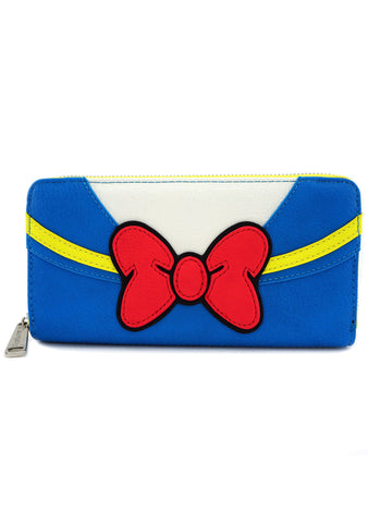 X Disney Donald Duck Zip Wallet