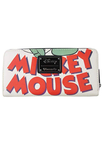 X Disney Mickey Mouse Classic Zip Wallet