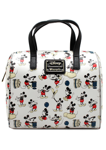 X Disney Mickey Poses AOP Duffle Bag