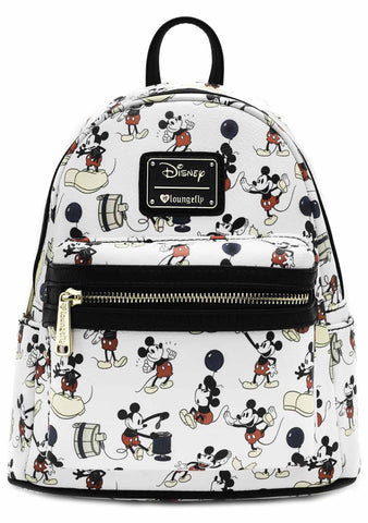 X Disney Mickey Poses AOP Mini Backpack