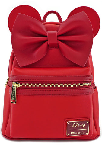 X Disney Minnie Ears Mini Backpack in Red