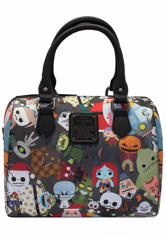 X Nightmare Before Christmas Chibi Duffle Bag