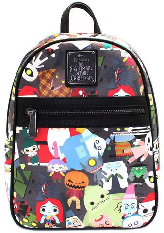 X Nightmare Before Christmas Chibi Mini Backpack