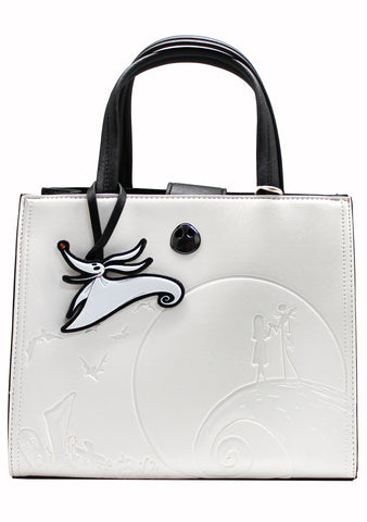 X Nightmare Before Christmas Debossed Satchel Bag