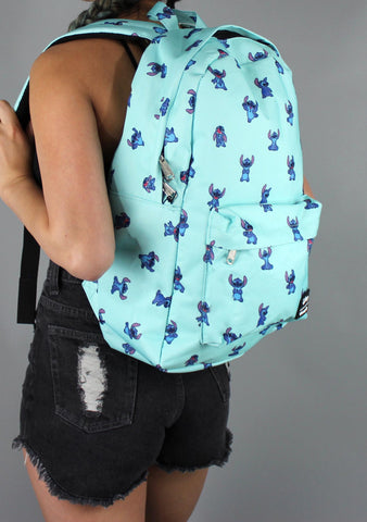 X Disney Stitch Poses Backpack