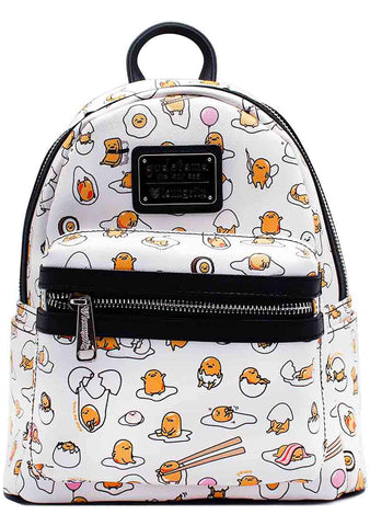 Loungefly X Gudetama AOP Mini Backpack