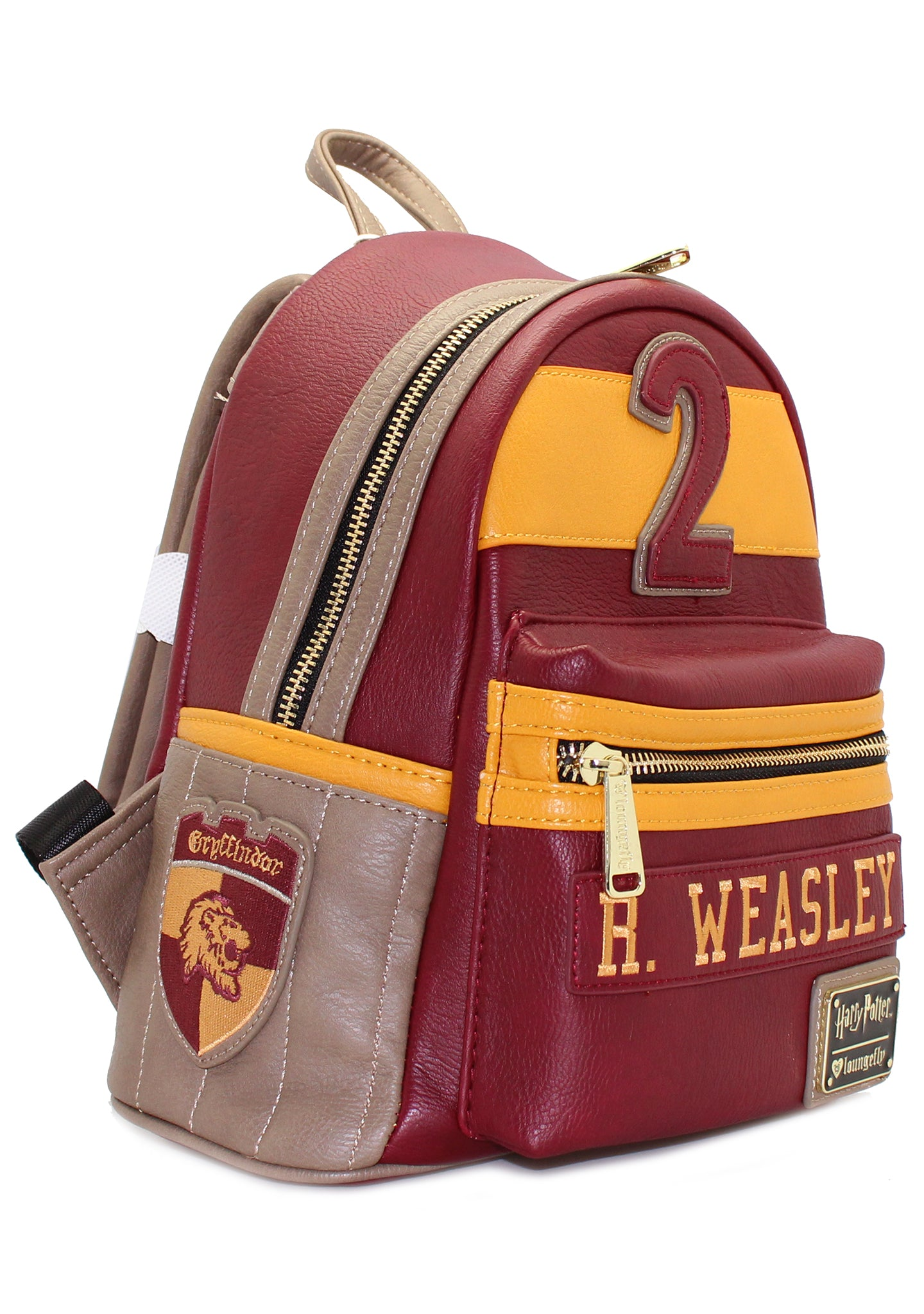 8ab488a8c8d X Harry Potter R. Weasley Gryffindor Mini Backpack