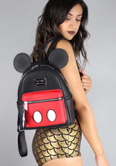 Loungefly X Disney Mickey Suit Mini Backpack