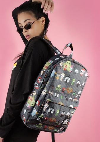 X Nightmare Before Christmas Chibi Character Backpack