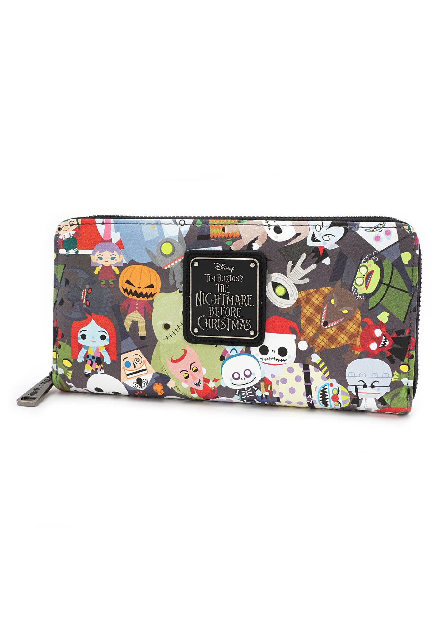 X Nightmare Before Christmas Chibi Zip Wallet