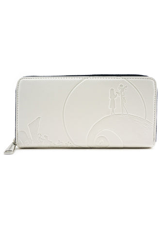 X Nightmare Before Christmas Debossed Zip Wallet