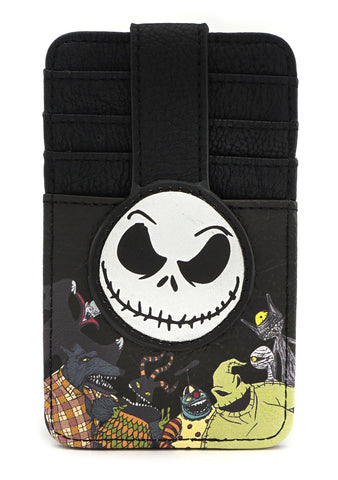 X Nightmare Before Christmas Jack Card Holder