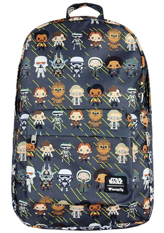 X Star Wars Han Solo Chibi AOP Backpack