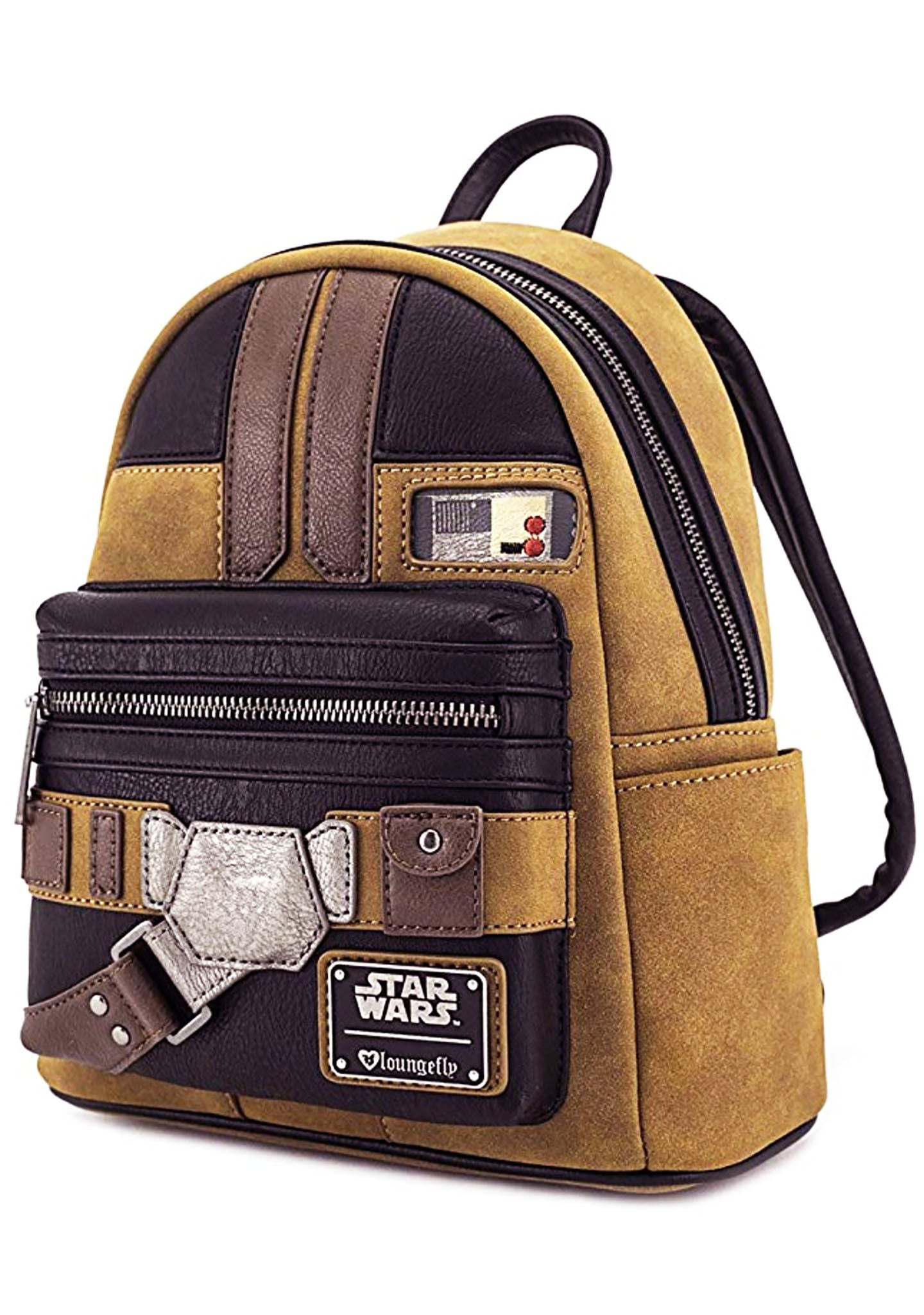 X Star Wars Han Solo Cosplay Mini Backpack