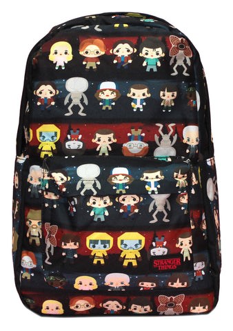 X Stranger Things Baby Character AOP Backpack