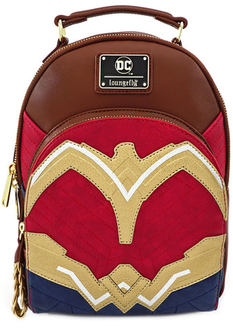 X DC Comics Wonder Woman Cosplay Mini Backpack