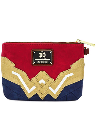 X DC Comics Wonder Woman Cosplay Wristlet Wallet