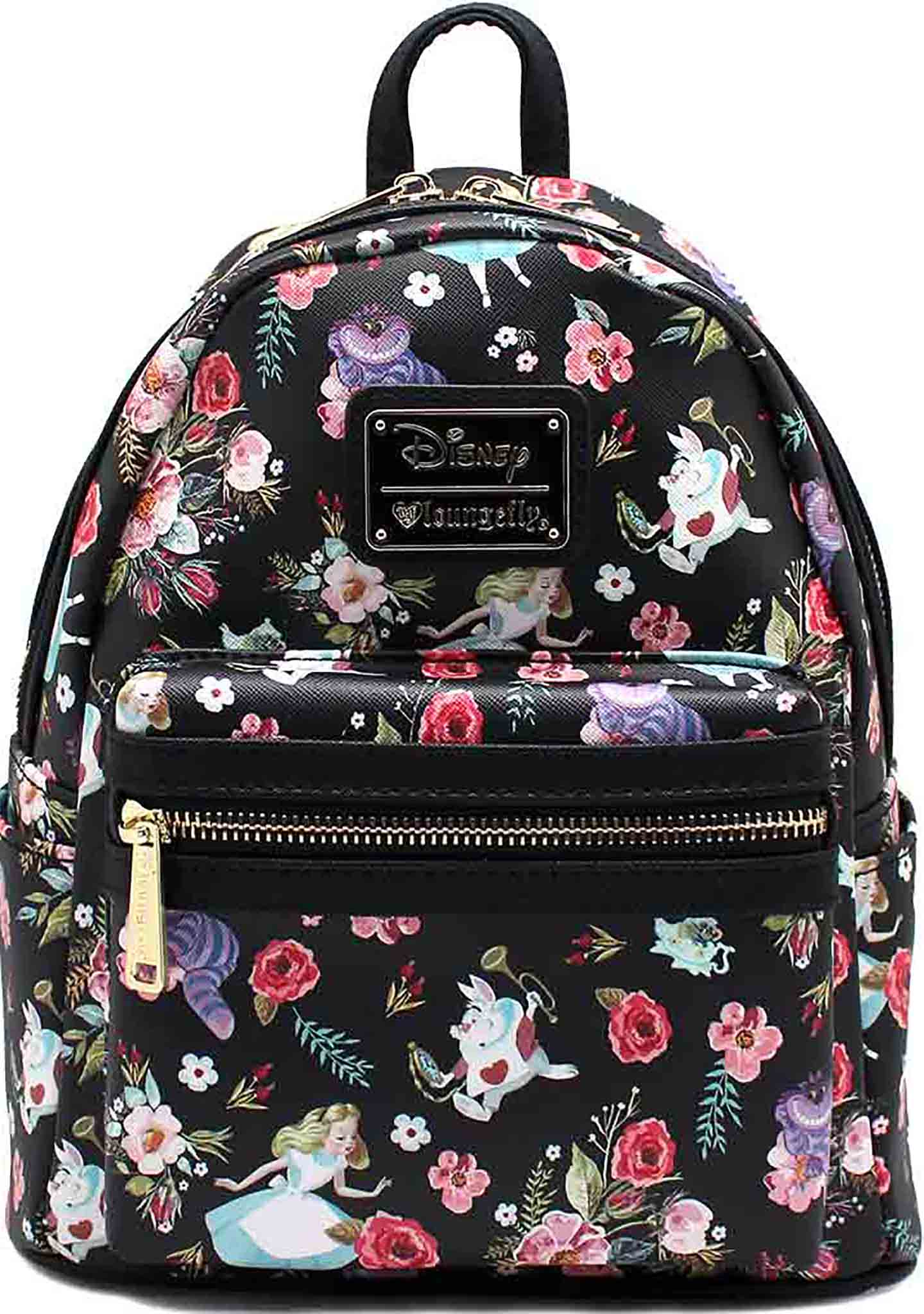 X Disney Alice in Wonderland Floral Characters Mini Backpack 080602be4cff2