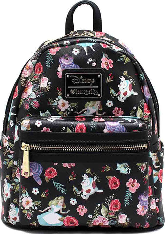 X Disney Alice in Wonderland Floral Characters Mini Backpack